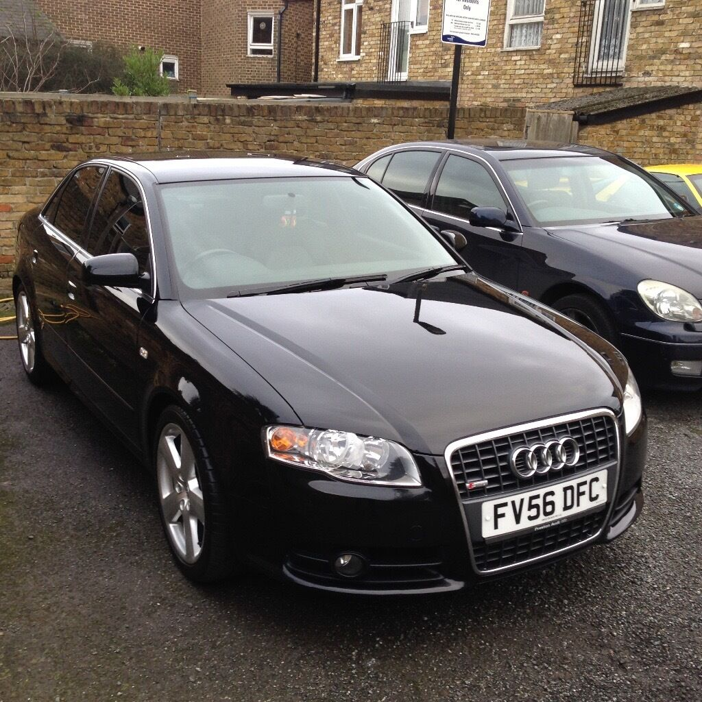 audi a4 b7 s line 2 0 tdi 2006 56 plate in greenford. Black Bedroom Furniture Sets. Home Design Ideas