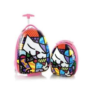 Heys Britto for Kids 2pc- 18 inch Luggage and 15 inch Backpack Set - Kitty