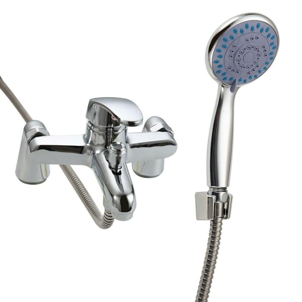 Luxury Bathroom Chrome Sink Bath Filler Tap Shower Mixer Taps With Hand Held In Small Heath West Midlands Gumtree