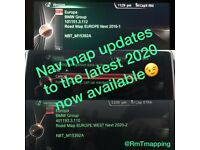 Coding and map updates available on BMW and MINI.