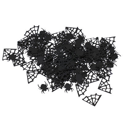 Spider Webs Spider Table Confetti Halloween Boys Birthday Party Decor - Halloween Confetti