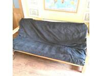 Sold- Norwegian Pine sofa bed. (Double)