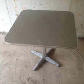 Stainless steel patio table for sale