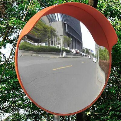 Convex Traffic Mirror Pc Plastic Orange 18 Outdoor