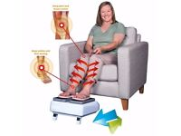 LegEx Circulation Leg Exerciser With Remote AS SEEN IN PRESS..................Brand New