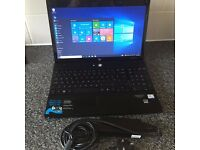 HP Probook 4510s Laptop & Charger.