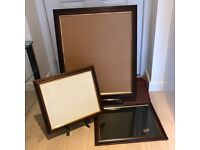 Picture Frames, mahogany and gilt