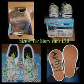 Unisex Toy Story Vans