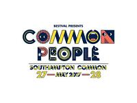 Common People Festival Southampton Tickets