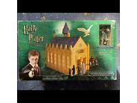 Harry Potter The Great Hall Play Set Exclusive Figure Boxed Unopened Very Rare
