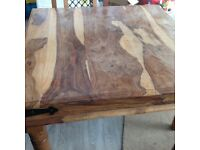 High quality very well made mango wood table