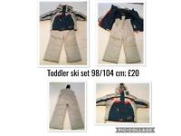 Toddler ski set
