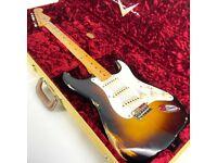 2020 Fender Custom Shop 'Limited Edition Trophosphere' Heavy Relic Stratocaster - Sunburst - Trades