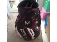 Lynx tour golf bag