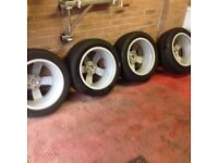 GENUINE AUDI TT 17in 5spoke alloy wheels in EXCELENT condition complete with tyers