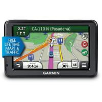 Garmin Nuvi 2455LMT GPS - like new, w/mount and cable