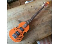 Retrovibe chambered Violin / Scroll bass
