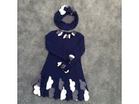 Kate Mack Dress with matching hat