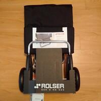 New Rolser made in Spain Shopping Cart / Grocer Trolley
