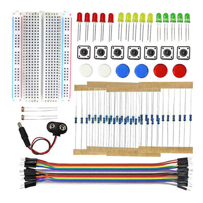 New Solderless Breadboard Protoboard 400 Tie Point Circuit Pcb Kits For Uno R3
