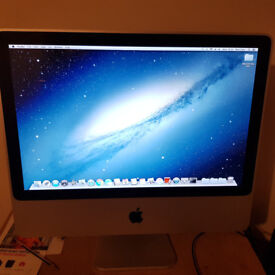 Apple Imac 20 inch 1tb Hard Drive 4gb ram 2ghz dual core all in one