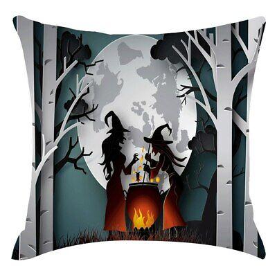 Halloween Zierkissen Kissenbezug Kissen Dekokissen 45 x 45 - Halloween Bezug
