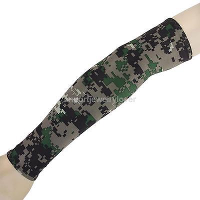 Outdoor Sports Golf Camo Cooling Sun UV Protection Hand Cover Arm Sleeves