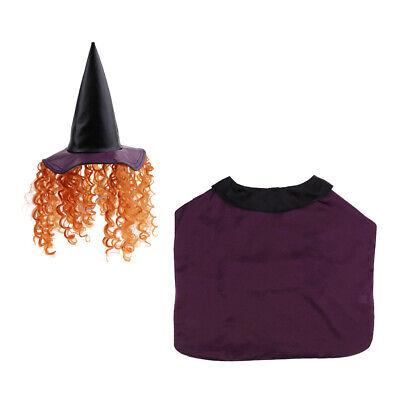 Halloween Hundekostüm Hexe Zauberer Kleidung für Kleine Hunde
