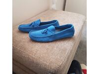 Ask the missus suede driver loafers