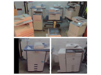 Photocopier printer scanner, job lot, 8 machines all tested working canon, Sharp, Ricoh, Canon.