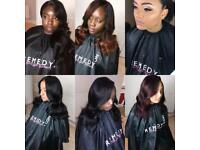North London Afro-Caribbean-European Hairstylist