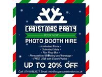 UP TO 20% OFF - CHRISTMAS PHOTO BOOTH HIRE IN LONDON WITH UNLIMITED PRINTS FOR ALL EVENTS,PHOTOBOOTH