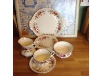 Vintage Queen Anne bone china tea set