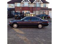 BMW 730 Left Hand Drive Petrol Automatic + Sunroof