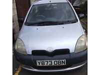 Toyota yaris BARGAIN!! 6 MONTHS MOT!! NEEDS GONE DRIVES PERFECTLY....