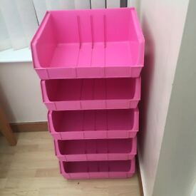 Pink Linnie Stackers