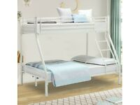 🎆💖🎆CONTACT US FOR DELIVERY🎆💖🎆TRIO METAL BUNK BED FRAME DOUBLE BOTTOM & SINGLE TOP HIGH QUALITY