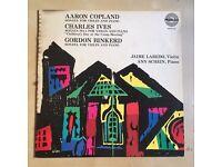 Copland / Ives / Binkerd - Jaime Laredo (violin) & Ann Schein (piano)