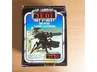 Vintage Star Wars Return of The Jedi Tri-Pod Laser Cannon Mini-Rig from Kenner