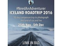 Adventurer Wanted for Icelandic Roadtrip