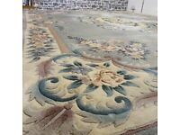 Large Chinese Rug 100% Wool Pile…. 366 x 274 cm