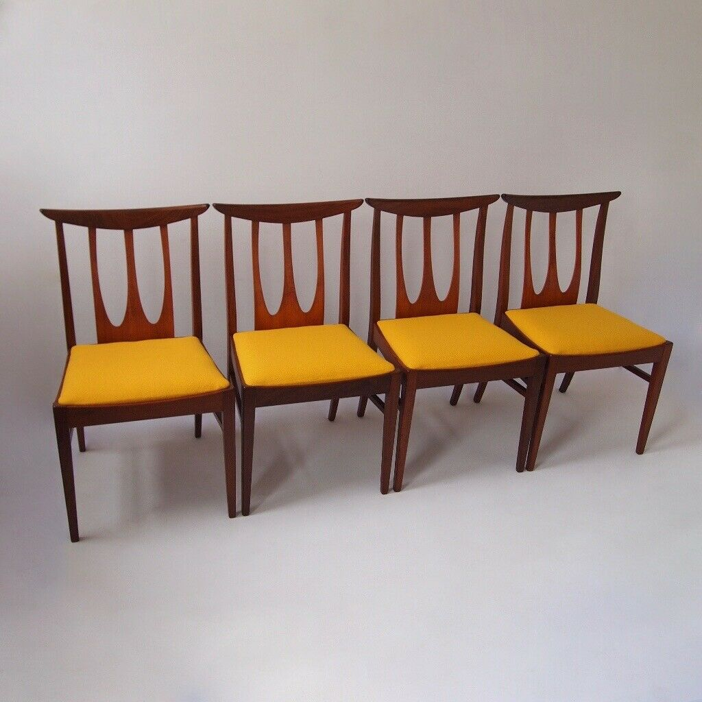 Superb G Plan Brasilia Teak Afromosia Dining Chairs X 4 Vintage Retro Mid Century 1960S In Belfast City Centre Belfast Gumtree Squirreltailoven Fun Painted Chair Ideas Images Squirreltailovenorg