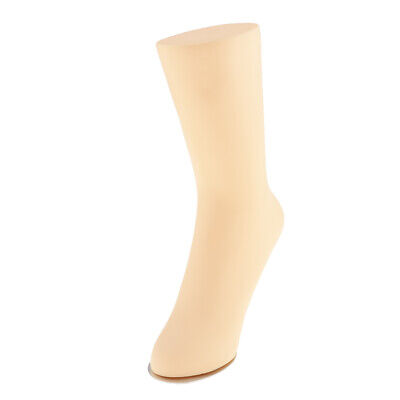 Unisex Pvc Mannequin Foot Anklet Sock Display Large Natural