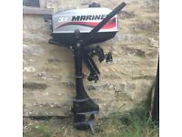 Mariner 3.3 HP outboard engine. Good condition. Little use.