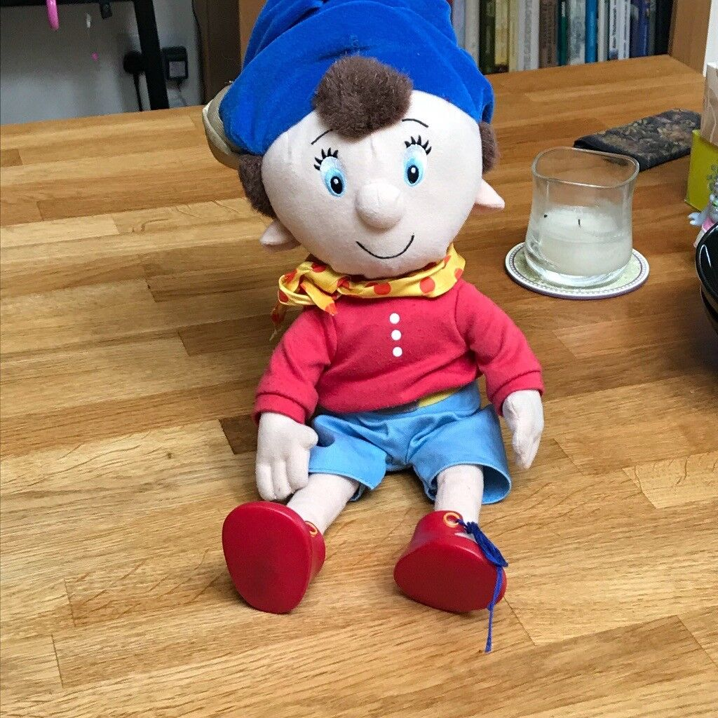 singing Noddy, fisher price dog and various toys