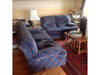 Blue Velour Suite
