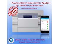 Pyronix Enforcer HomeControl + App Kit + Digi GPRS Sim Communication Home Alarm