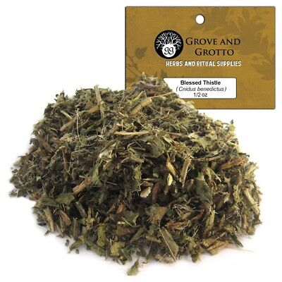 Blessed Thistle 1/2 oz Package Ritual Herb ORGANIC C/S by Grove and Grotto