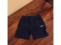 McKenzie boys navy shorts size 18-24 months brand new