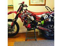 Crf 450 2010 very clean